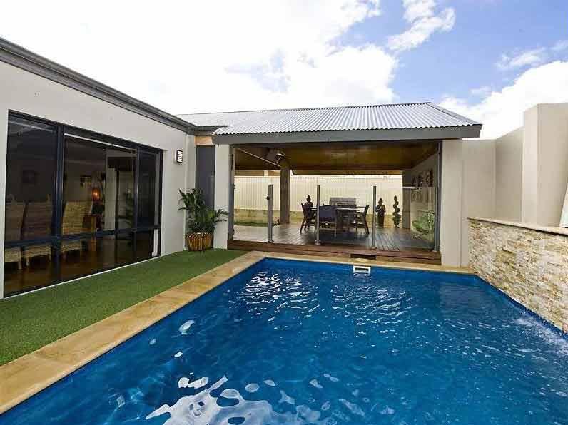 Renovation Design Perth - Alfresco at Burns Beach - Pool view
