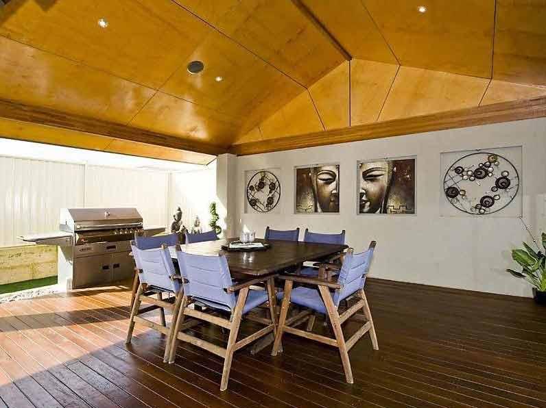 Renovation Design Perth - Alfresco at Burns Beach - Angle